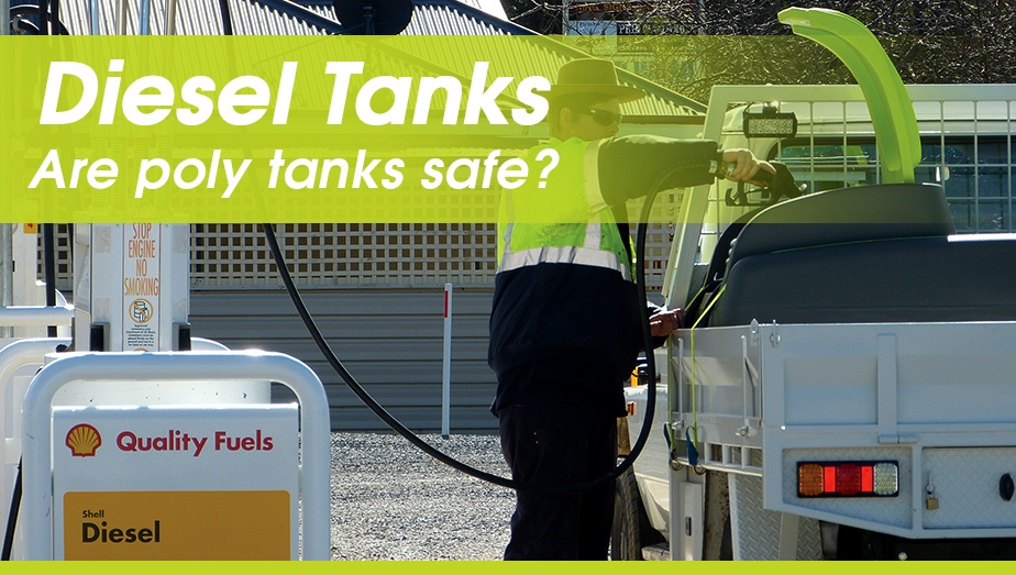Storing diesel on your farm - are poly tanks safe? - by TTi