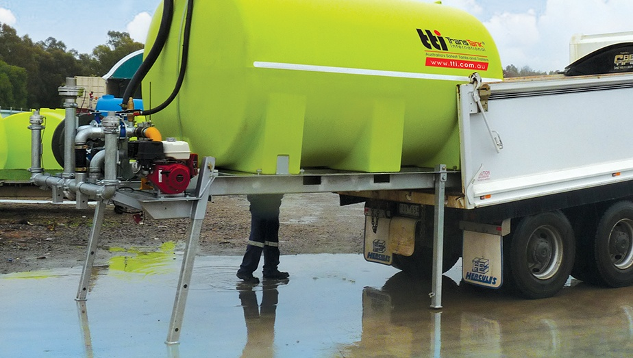 Why we love slip-on water carts, and you should too! FloodRite Poly Tanks by TTi