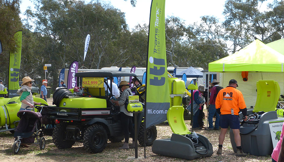 Trans Tank International participated in the recent field days in Henty by TTi