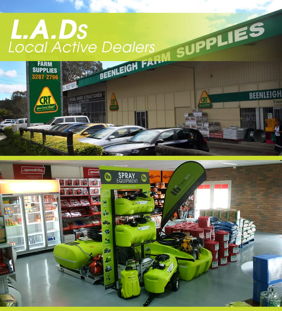 local active dealers in Australia - product manufactured and distributed by  TTi